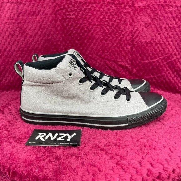 Converse Chuck Taylor Street Mid Grey Black Sneaker